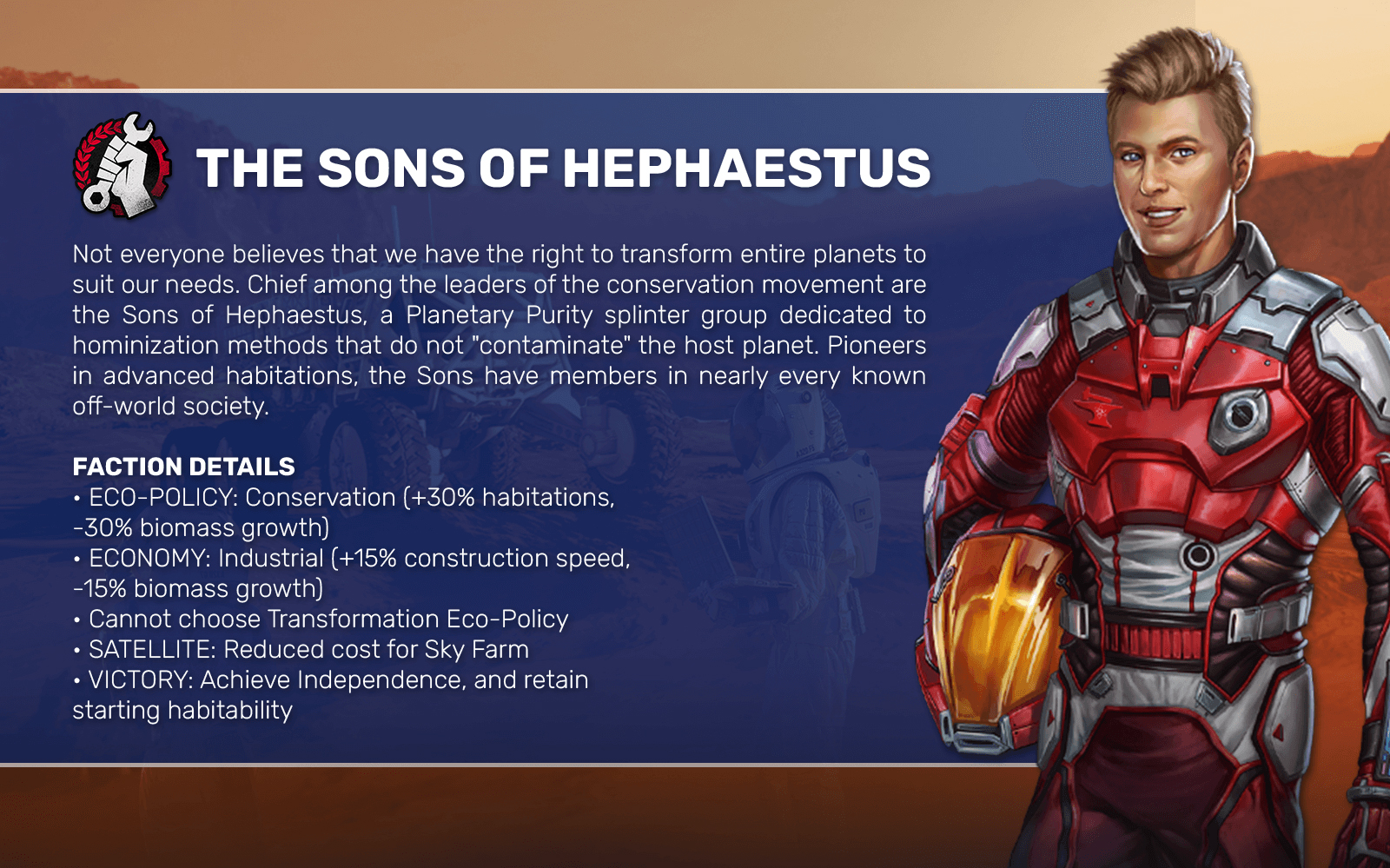 THE SONS OF HEPHAESTUS